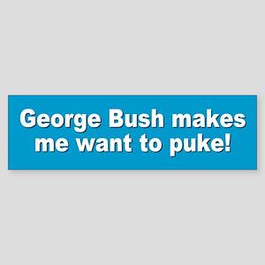 puke... Bumper Sticker