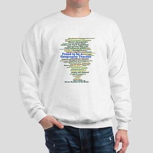 Geography Teacher's Sweatshirt