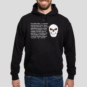 Arrr! Hoodie (dark)