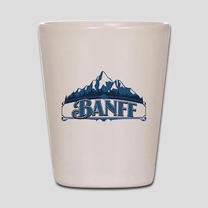 Banff Blue Mountain Shot Glass