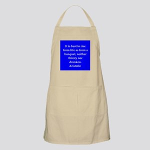Wisdom of Aristotle Apron