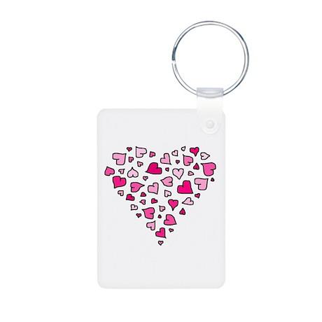 'Heart of Hearts' Aluminum Photo Keychain
