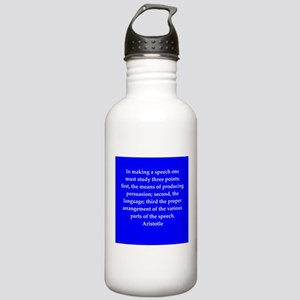 Wisdom of Aristotle Stainless Water Bottle 1.0L