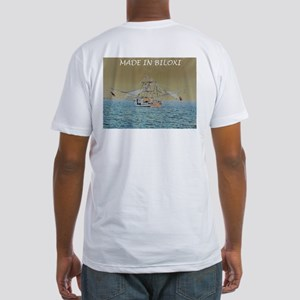 Fitted T-Shirt-Made in Biloxi