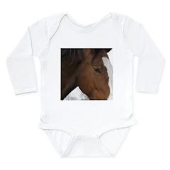 pRANCER Long Sleeve Infant Bodysuit