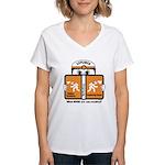 EXPLORER Women's V-Neck T-Shirt