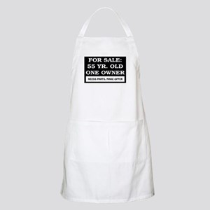 For Sale 55 Year Old Birthday Apron