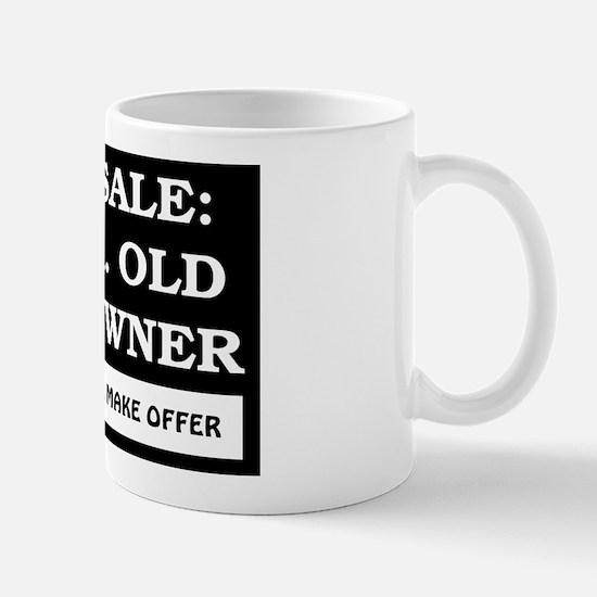 For Sale 55 Year Old Birthday Mug