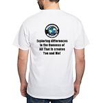 Individuality White T-Shirt
