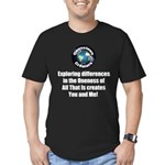 Individuality Men's Fitted T-Shirt (dark)