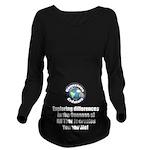 Individuality Long Sleeve Maternity T-Shirt