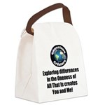 Individuality Canvas Lunch Bag