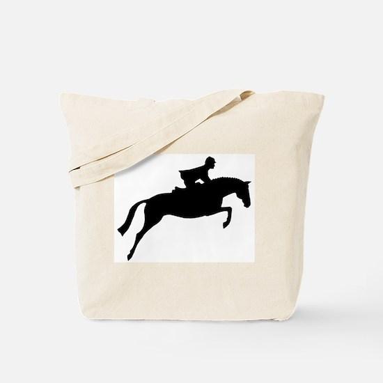 h/j horse & rider Tote Bag