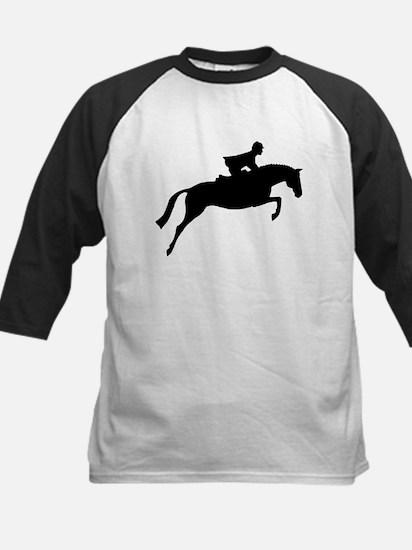 h/j horse & rider Kids Baseball Jersey