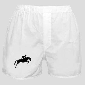 h/j horse & rider Boxer Shorts