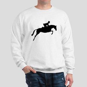 h/j horse & rider Sweatshirt