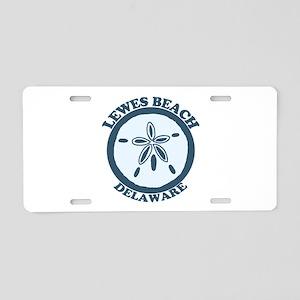 Lewes Beach DE - Sand Dollar Design. Aluminum Lice