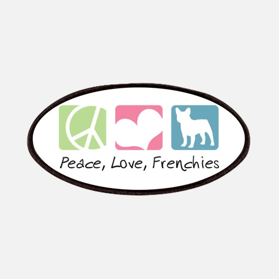 Peace, Love, Frenchies Patches
