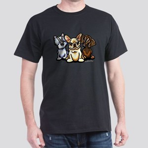Frenchie Flatulence Dark T-Shirt