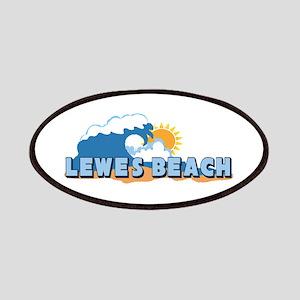 Lewes Beach DE - Waves Design Patches