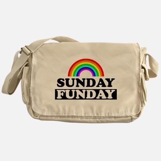 Cute Lesbian humor Messenger Bag