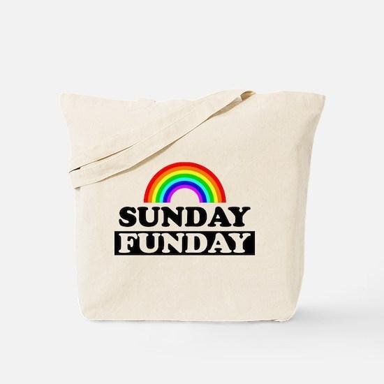 Cool Sunday Tote Bag