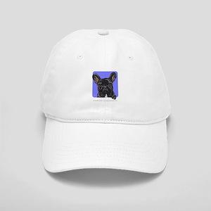 Black French Bulldog Lover Cap