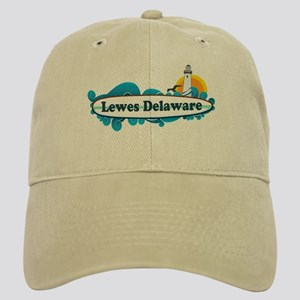 Lewes Beach DE - Surf Design Cap