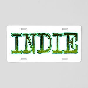 INDIE Aluminum License Plate