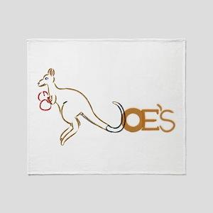 Old Logo Throw Blanket