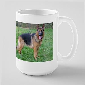 german shepherd full Mugs