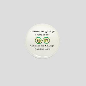 Cumann na Gaeilge i mBoston Mini Button