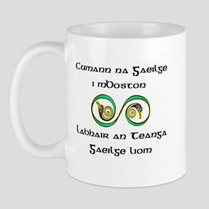 Cumann na Gaeilge i mBoston Mug