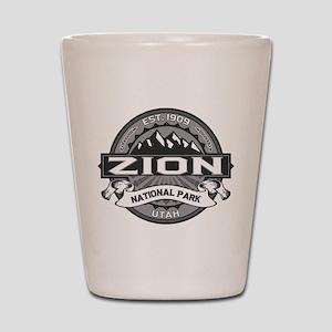 Zion Ansel Adams Shot Glass