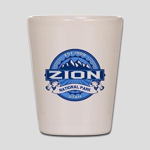 Zion Cobalt Shot Glass