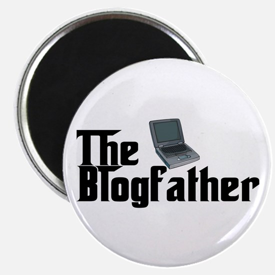 """The Blogfather 2.25"""" Magnet (100 pack)"""