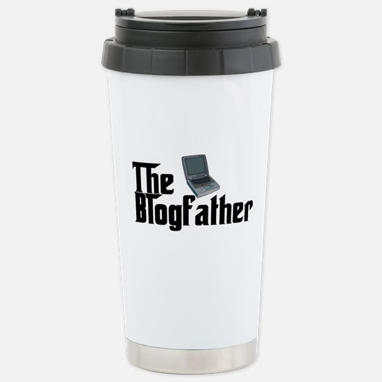 The Blogfather Stainless Steel Travel Mug