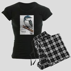 Cerulean Warbler Women's Dark Pajamas