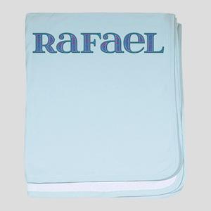 Rafael Blue Glass baby blanket