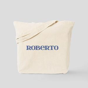 Roberto Blue Glass Tote Bag