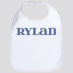 Rylan Blue Glass Bib