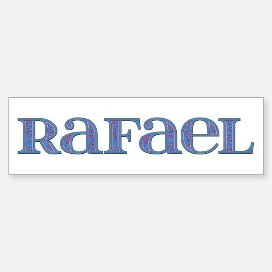 Rafael Blue Glass Bumper Bumper Bumper Sticker