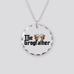 The Grogfather Necklace Circle Charm