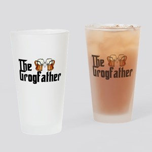 The Grogfather Drinking Glass