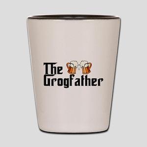 The Grogfather Shot Glass