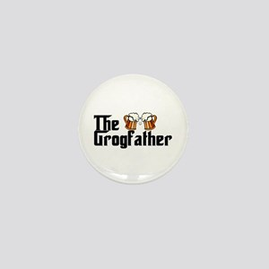 The Grogfather Mini Button