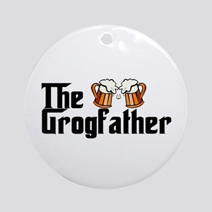 The Grogfather Ornament (Round)