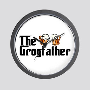 The Grogfather Wall Clock