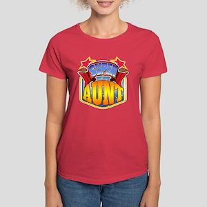 Super Aunt Women's Dark T-Shirt