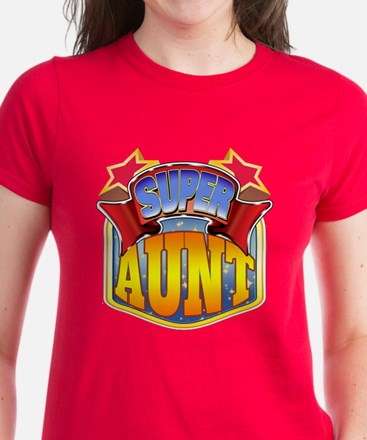 Super Aunt Women's Dark T-Shirt